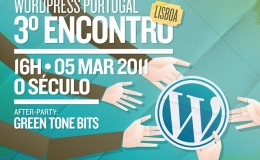 3 Encontro WordPress Portugal em Lisboa